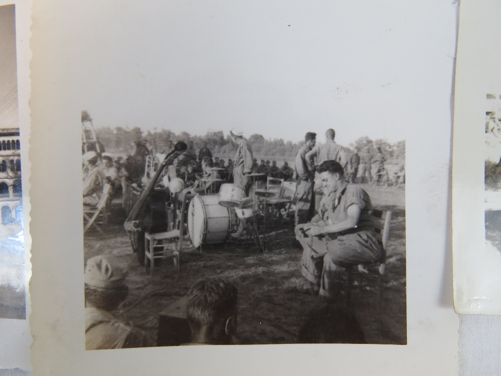 Lot 17 - A quantity of WWII photos taken in Naple