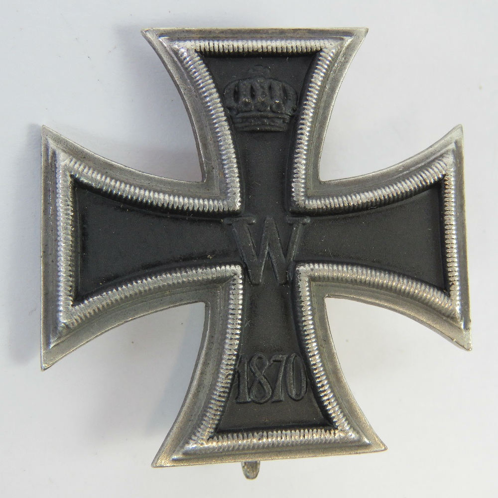 An 1870 German Empire Officers Iron Cros