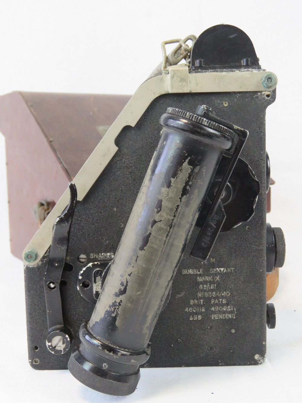 A bubble Sextant mark IX by SS&S Ltd, ma - Image 3 of 4