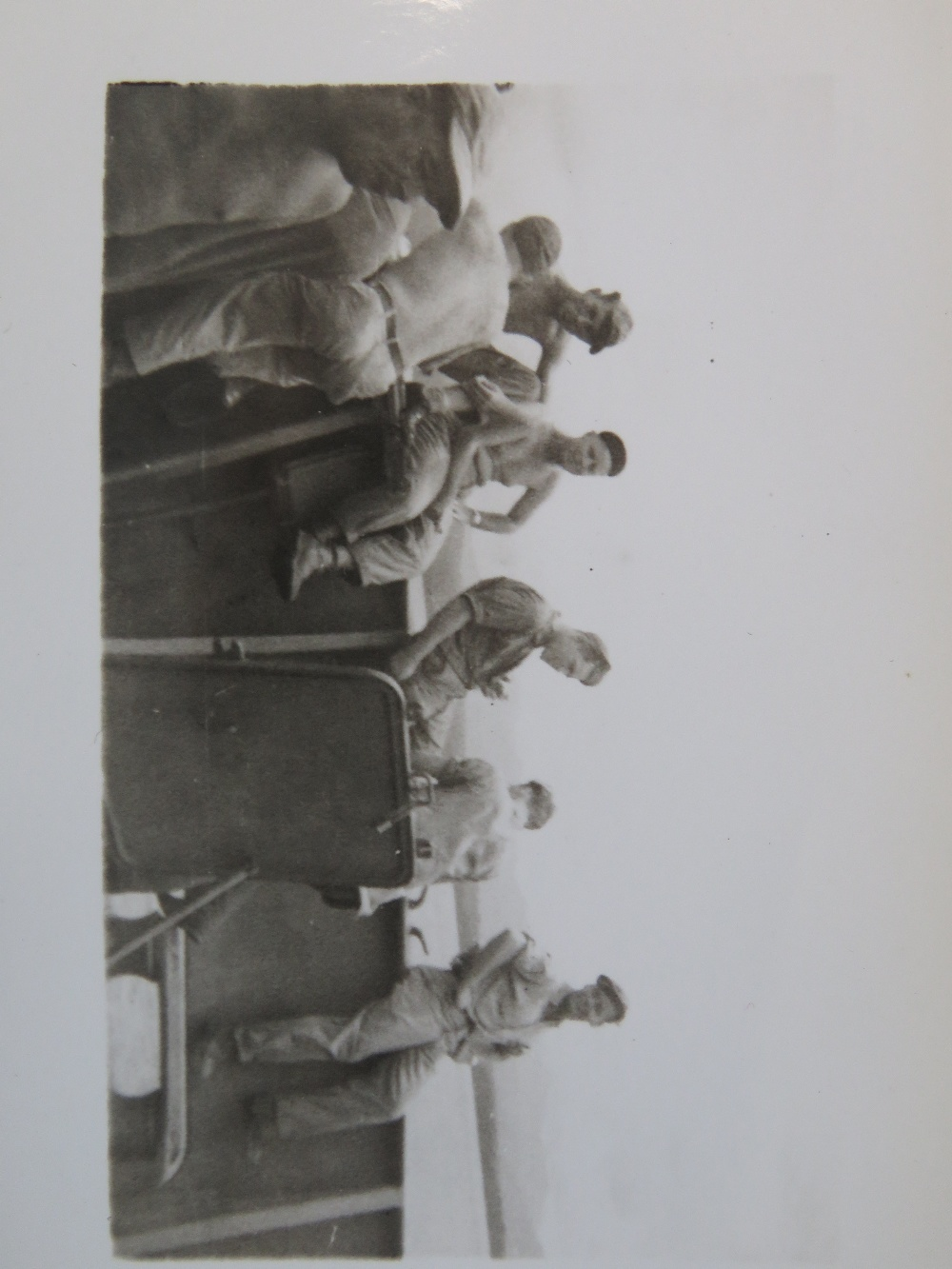 Lot 85 - A quantity of WWII US photos from Iwo Ji