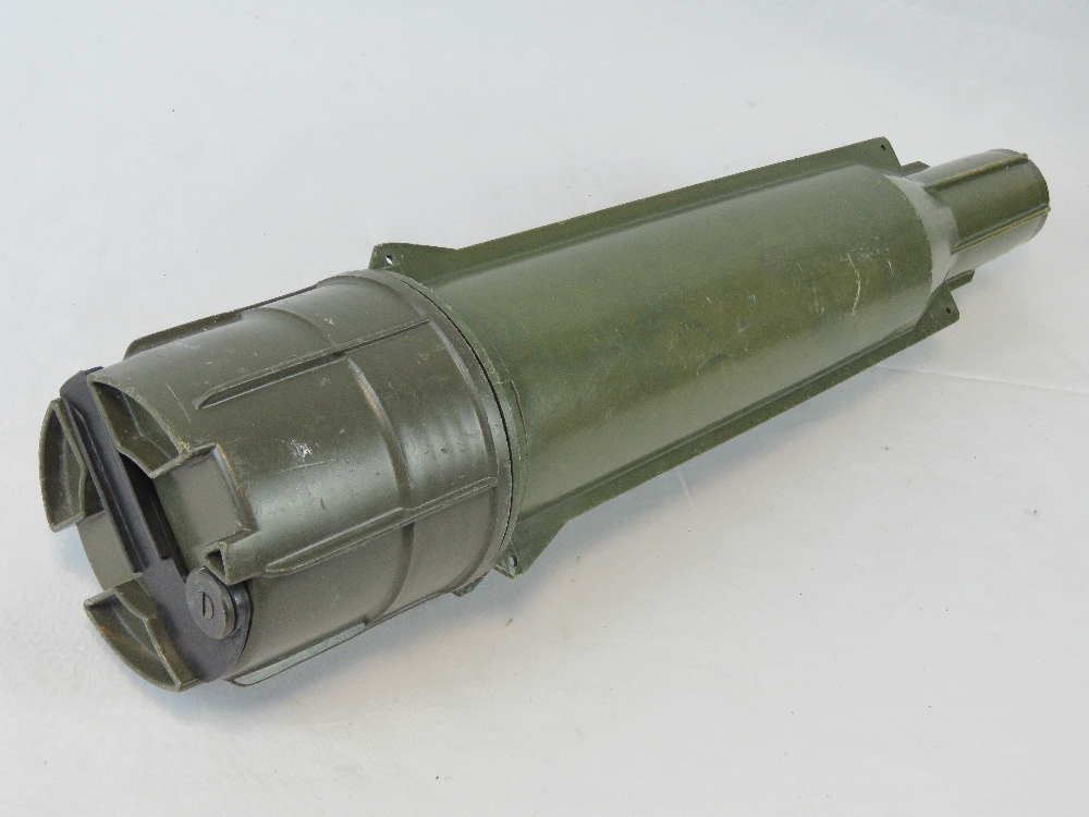 Lot 63 - A British transit shell case for a tank/