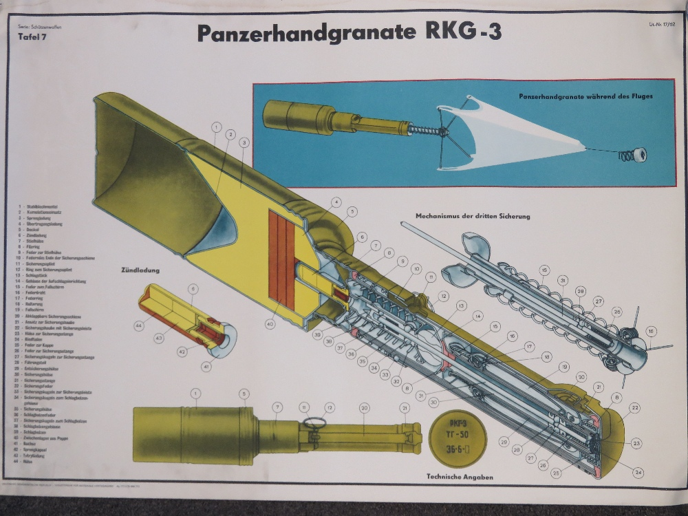 Two Cold War DDR East German/Soviet mili - Image 2 of 3