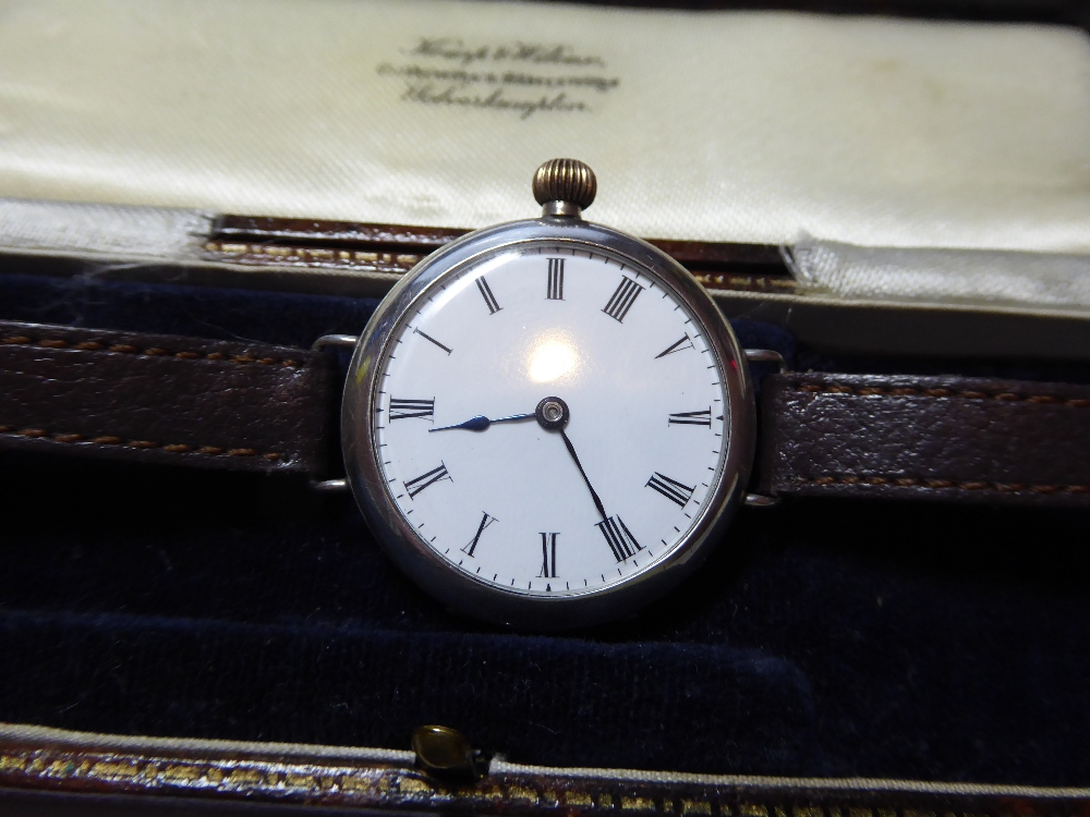 "A WW1 British Military """"Trench"""" watch. 3"