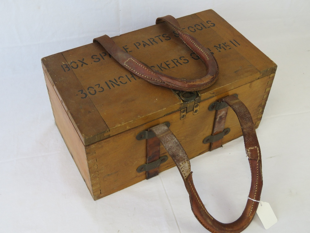 Lot 73 - A WWII British military Vickers Armourer