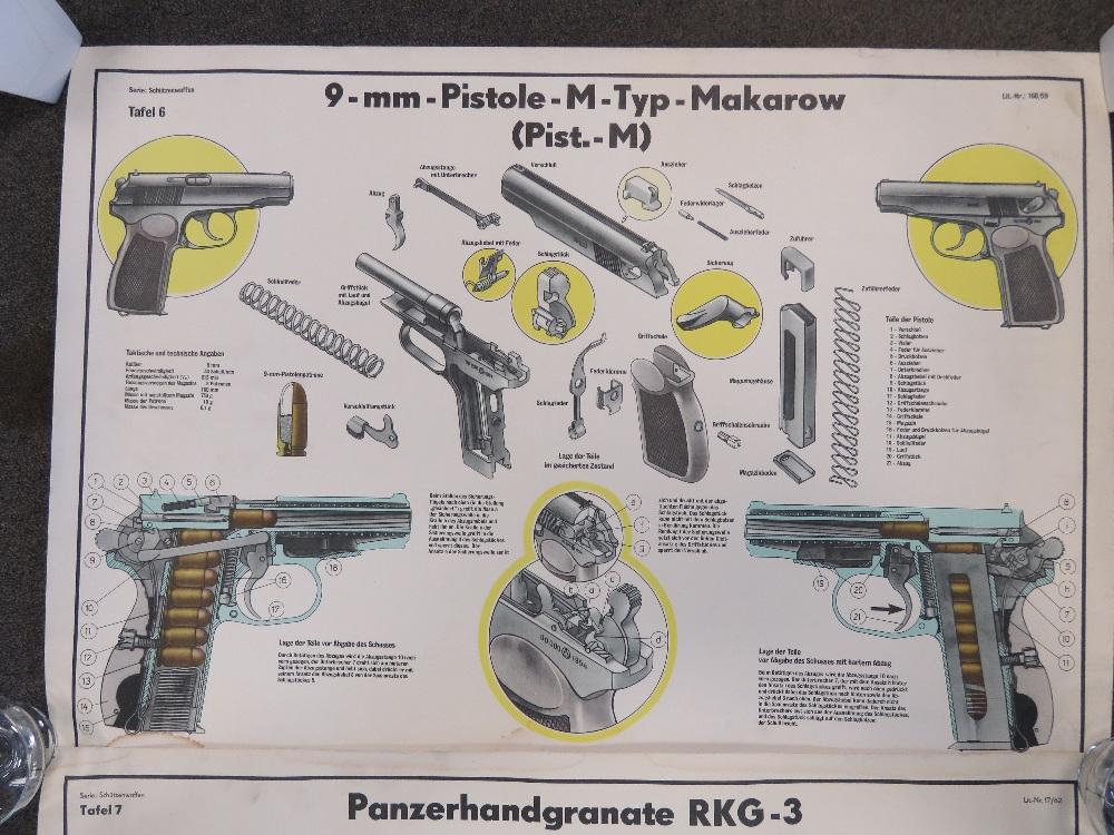 Two Cold War DDR East German/Soviet mili - Image 3 of 3