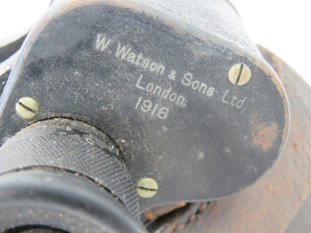 A WWI British military W.Watson & Sons O - Image 3 of 5