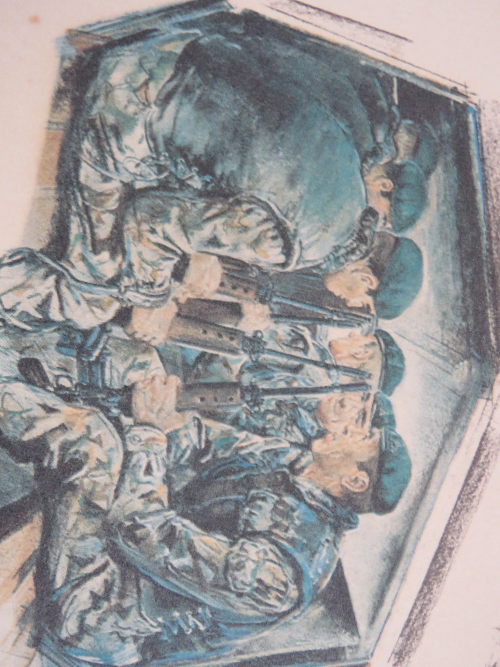Signed print; Joan Wanklyn (1924 - 1999) - Image 3 of 5