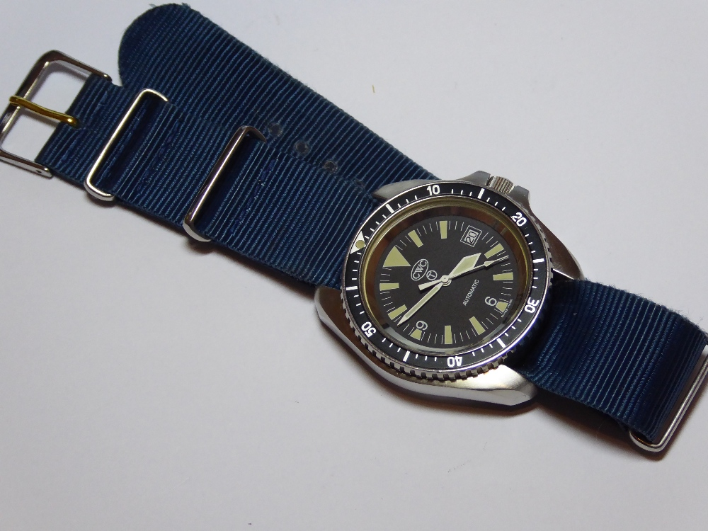A Navy Divers watch by CWC having Swiss - Image 2 of 4