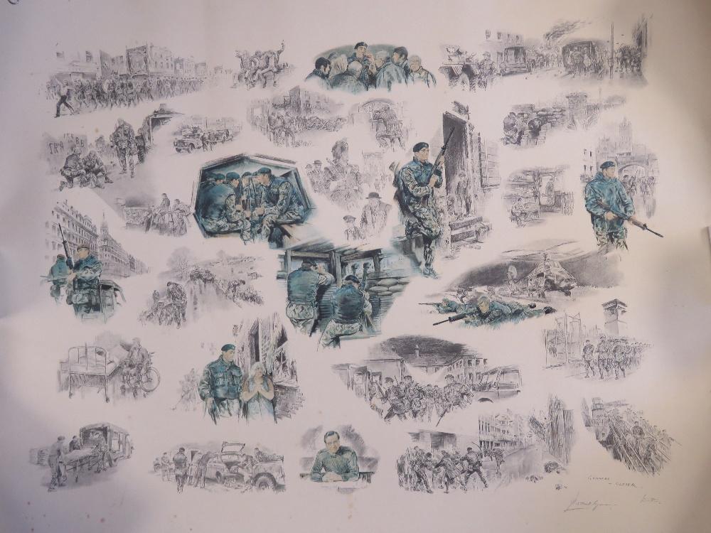 Signed print; Joan Wanklyn (1924 - 1999)