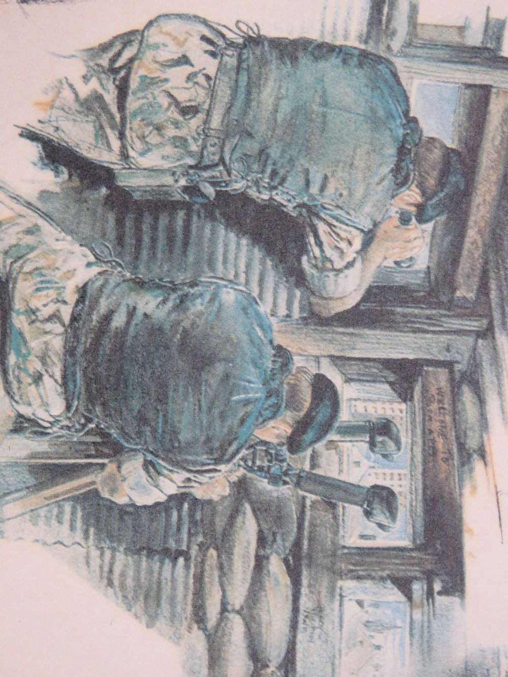 Signed print; Joan Wanklyn (1924 - 1999) - Image 4 of 5