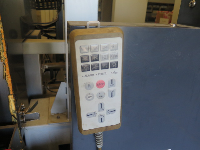Mitsubishi BA24 CMC Wire EDM Machine w/ Mitsubishi Controls and Hand Controller, 0.2mm-0.3mm Dia. - Image 13 of 15