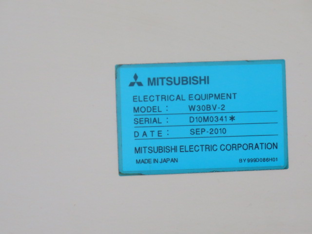 Mitsubishi BA24 CMC Wire EDM Machine w/ Mitsubishi Controls and Hand Controller, 0.2mm-0.3mm Dia. - Image 14 of 15
