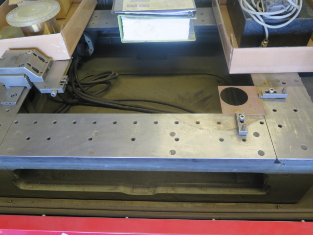 Mitsubishi BA24 CMC Wire EDM Machine w/ Mitsubishi Controls and Hand Controller, 0.2mm-0.3mm Dia. - Image 5 of 15