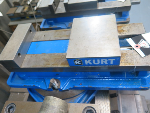 "Lot 36 - Kurt 6"" Angle-Lock Vise w/ Swivel Base"