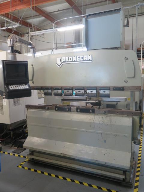 "Promecam RG-50-20 50 Ton x 79"" CNC Press Brake s/n 14501 w/ PM Graph Controls and Back Gaging, 79"" - Image 2 of 9"