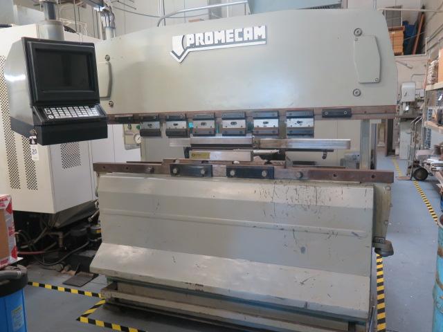 "Promecam RG-50-20 50 Ton x 79"" CNC Press Brake s/n 14501 w/ PM Graph Controls and Back Gaging, 79"""
