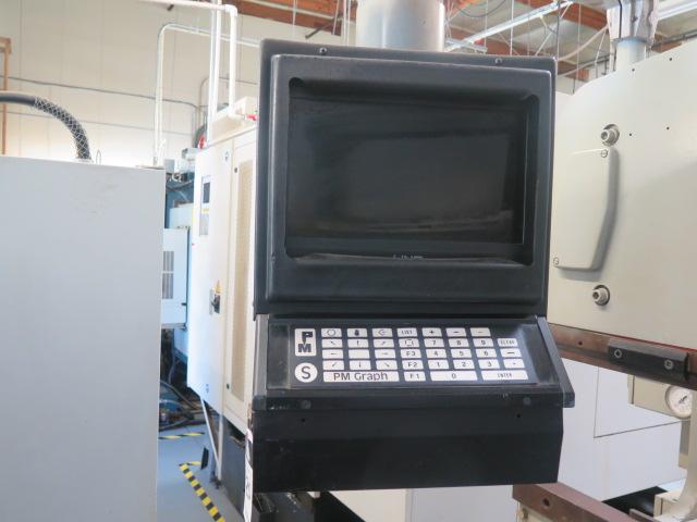 "Promecam RG-50-20 50 Ton x 79"" CNC Press Brake s/n 14501 w/ PM Graph Controls and Back Gaging, 79"" - Image 7 of 9"