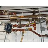 """Enerquip All S/S Shell and Tube Heat Exchanger: Approx. 4' Long: 2"""" Clamp Ports with Steam Trap"""