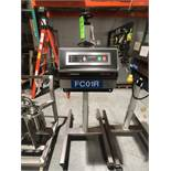 Enercon Super Seal Portable Induction Sealer, ModelLM4032-22, S/N16450-01, Rating SS-75Mounted