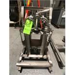 Beacon Metal Fabricators Inc Portable Duplex Inline S/S Filter System, (2) Inline Filters & (2) 3-