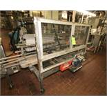SWF Corrugated Case Sealer; Hot Melt Design with Nordsen Glue System: includes Allen Bradley Micro