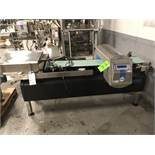 "Loma IQ 3 Conveyorized Metal Detector, Model IQ3, 15-1/2"" x 4-1/2"" Product Aperture, Product"