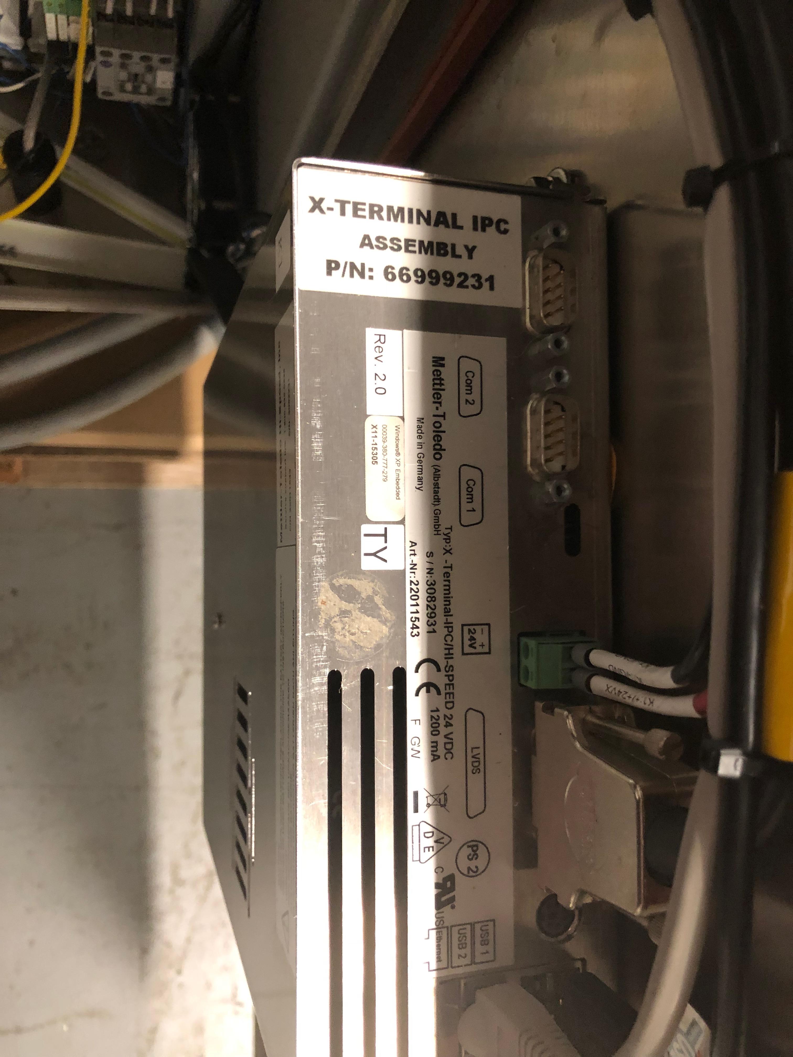 Lot 13 - Mettler Toledo Hi-Speed Check Weigher, Model XS, S/N 09021611