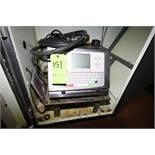 Citronix Digital Ink Jet Carton Coder Model Ci1000 with Stands and Sensor Above Conveyor