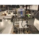 "Loma IQ2 Conveyorized Metal Detector, Model IQ2, S/N KIMH18310, 13-3/4"" W x 8"" H x 15-3/4"" Deep Aper"