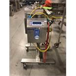"Loma IQ2 Drop Through Metal Detector, Model IQ2, S/N KPL15972, 4"" Wide Tube, 140 W x 140 H"
