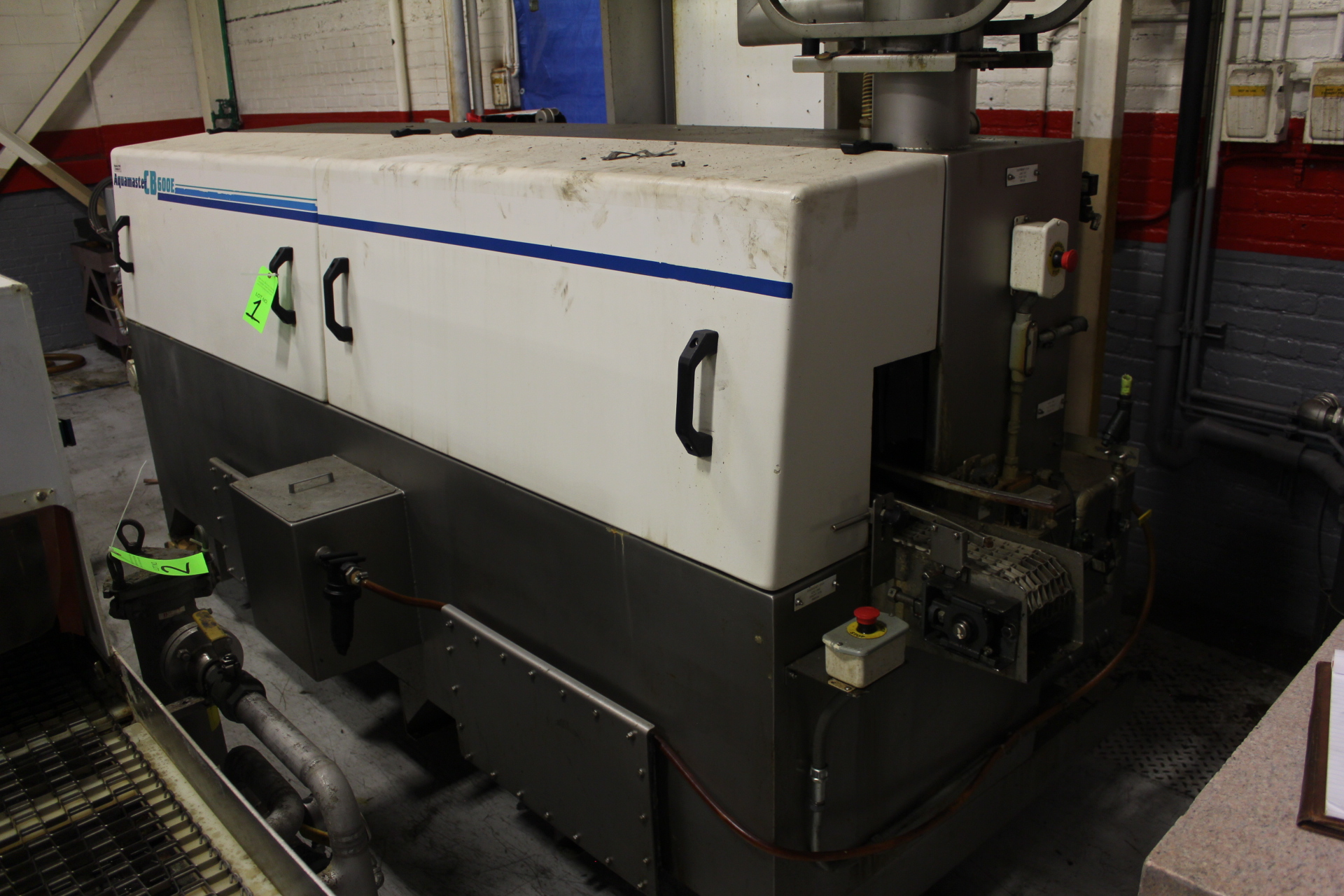 Lot 1 - Aquamaster, Model CB-600E, Parts Washer