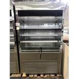 "QBD - MODEL: WC 4881 SS - 48"" STAINLESS STEEL GRAB & GO"