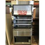 "QBD - MODEL: WC 3681 SS - 36"" STAINLESS STEEL GRAB & GO"