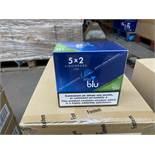 180 x MY BLU E-Liquid Green Apple 9mg (3 boxes x 60 per box)