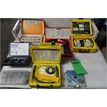 Lot of O-Ring and Assorted Drill Bits and Strapping