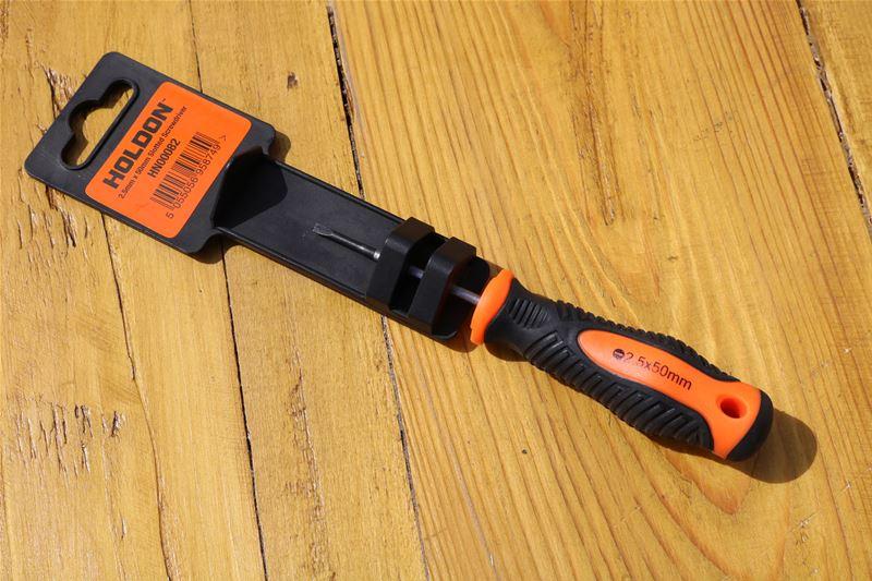 Lot 4 - 10 x HOLDON 2.5mm x 50mm Bar Length Slotted Screwdriver