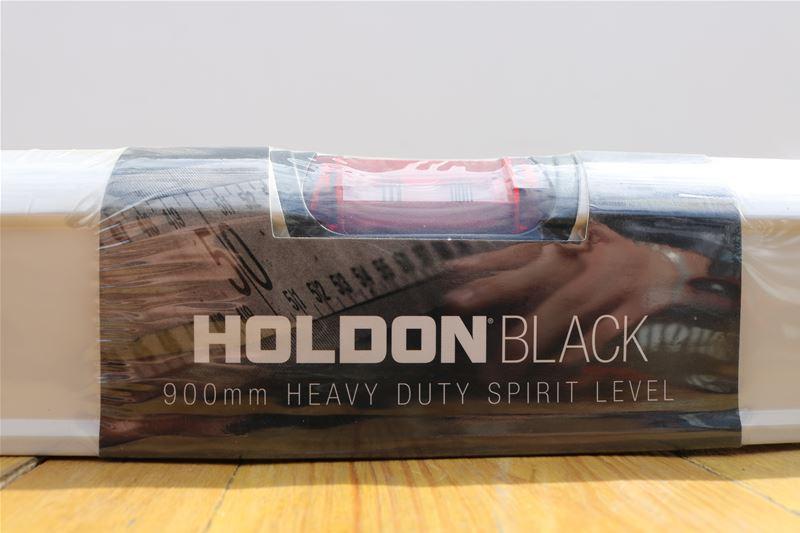 Lot 37 - 10 x HOLDON BLACK 900mm Heavy Duty Spirit Level