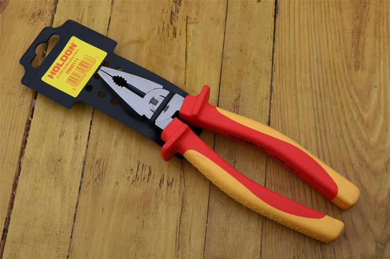 Lot 63 - 10 x HOLDON 8inch VDE Combination Pliers