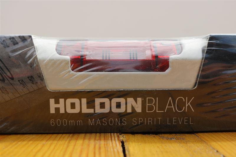 Lot 34 - 10 x HOLDON BLACK 600mm Masons Spirit Level