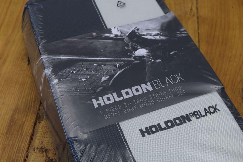 Lot 35 - 10 x HOLDON BLACK Bevel Edge Wood Chisel Set