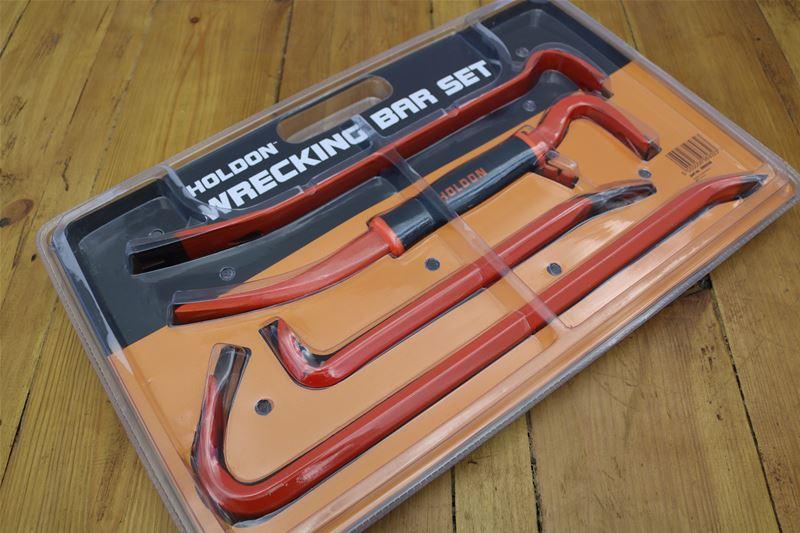 Lot 58 - 10 x HOLDON 5 Piece Wrecking Bar Set