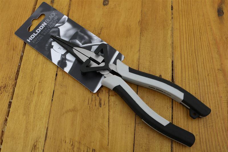 Lot 23 - 10 x HOLDON BLACK 200mm Long Nose Pliers