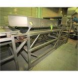"""Key ~14 ft. L x 36"""" W S/S Vibratory Dewatering / Fines Removal / Shaker Conveyor with Electric"""