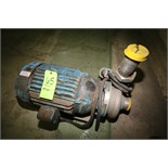 """Ampco Aprox. 15 hp Centrifugal Pump, Model DCH2, with 3"""" x 2-1/2"""" Clamp Type S/S Head, Baldor Motor,"""
