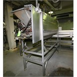 Lyco Peeler / Washer, Model 8000, S/N 07309610603, with (8) Roller Positions, S/S Screw Auger, All