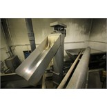 """Hydrolfit Vanguard 12 ft H x 24"""" W S/S Vertical Power Transfer Auger, with 58"""" L x 24"""" W Bottom"""