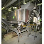 Lyco Peeler / Washer, Model 11000, S/N 052990819, with (11) Roller Positions, S/S Screw Auger, All