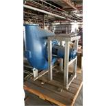 """New Cornell 46"""" Pump Head, PN 10NH-2-2 with 10"""" Flanged Head, Mounted on S/S Frame (Note: Spare"""