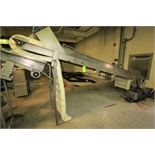 """16 ft. L S/S Inclined Conveyor System, with 24"""" W Intralox Belt with 8"""" Flights, Siderails, SKK"""