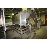 Lyco Peeler / Washer, Model 11000, S/N P039811428I, with Set up for (9) Roller Positions, (Note: